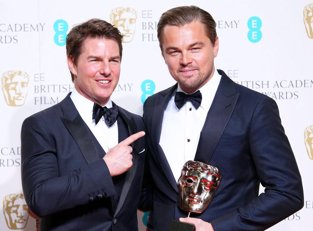 Tom Cruise and Leonardo Dicaprio