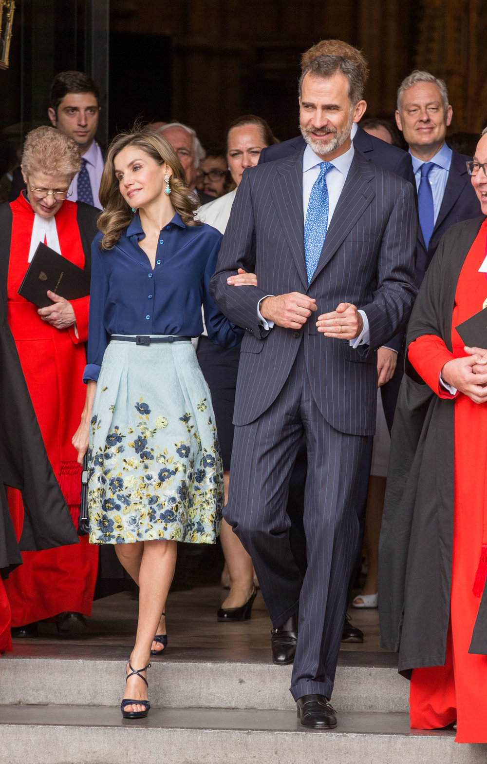 King Felipe VI, Queen Letizia