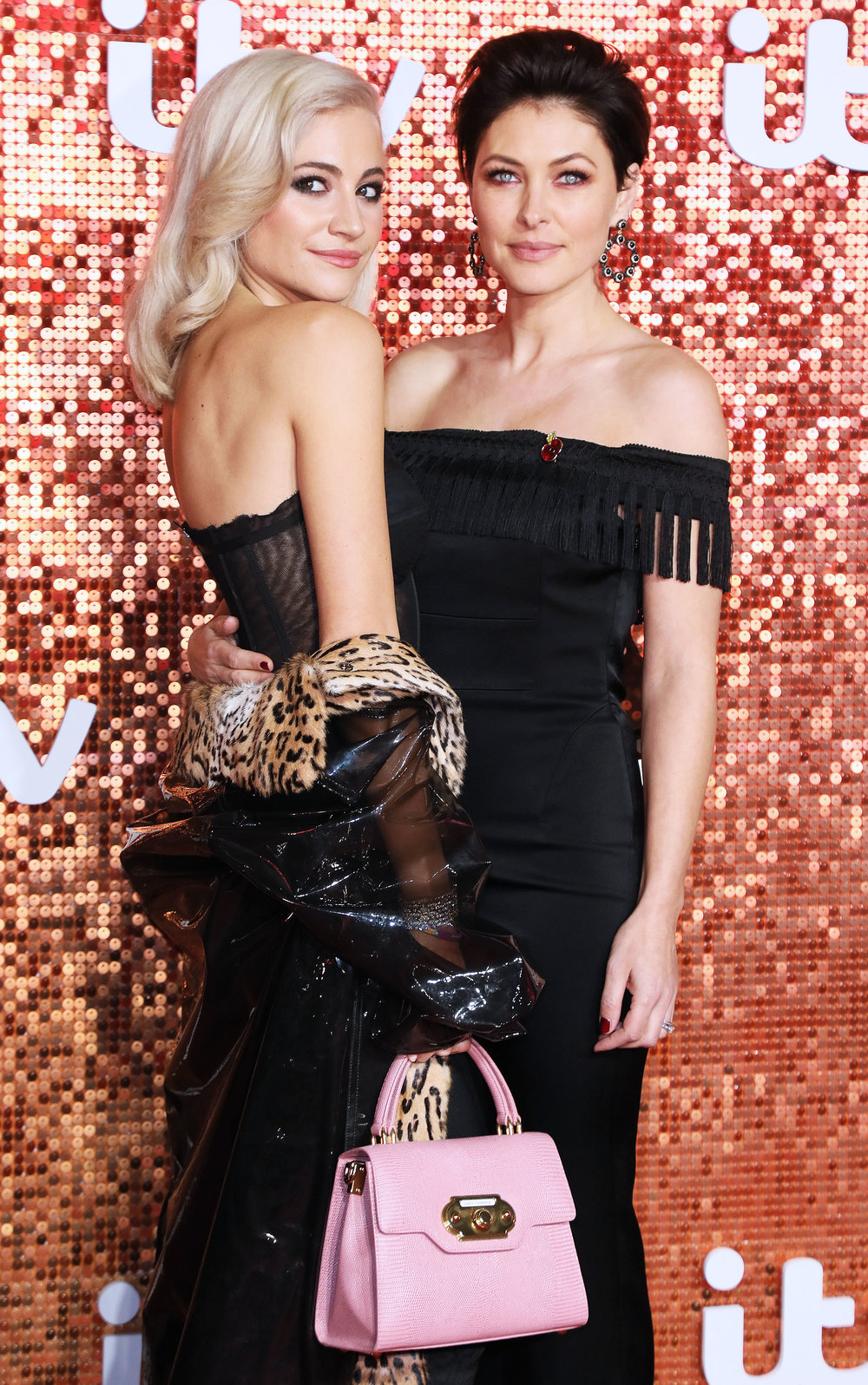 Pixie Lott and Emma Willis