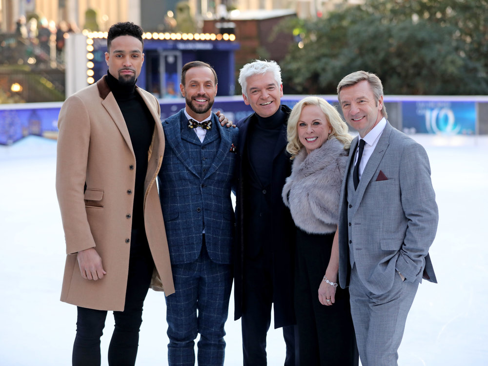 Ashley Banjo, Jason Gardiner, Phillip Schofield, Jayne Torvill and Christopher Dean