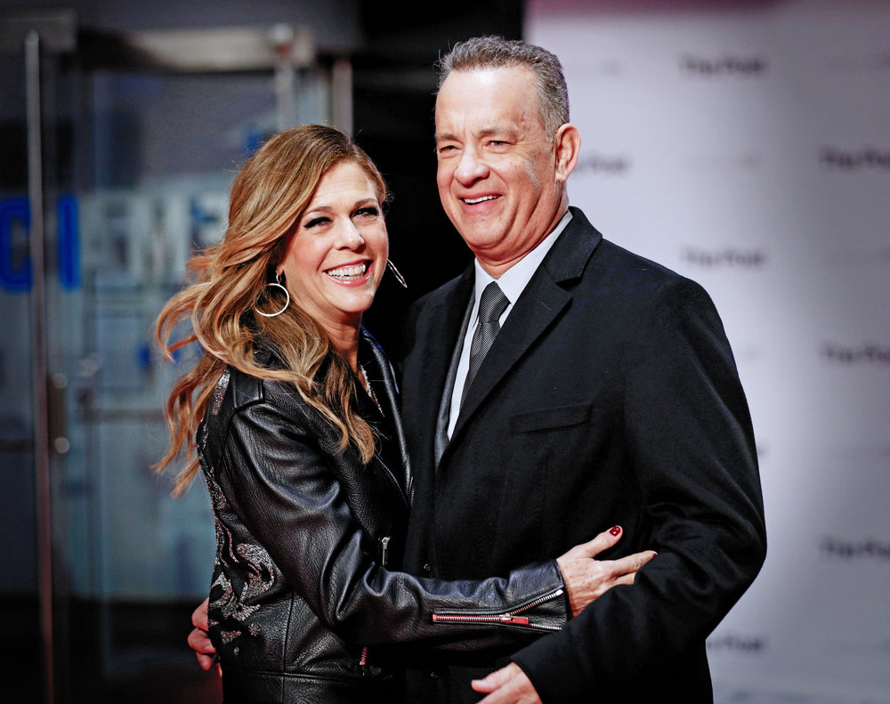 Rita Wilson and Tom Hanks