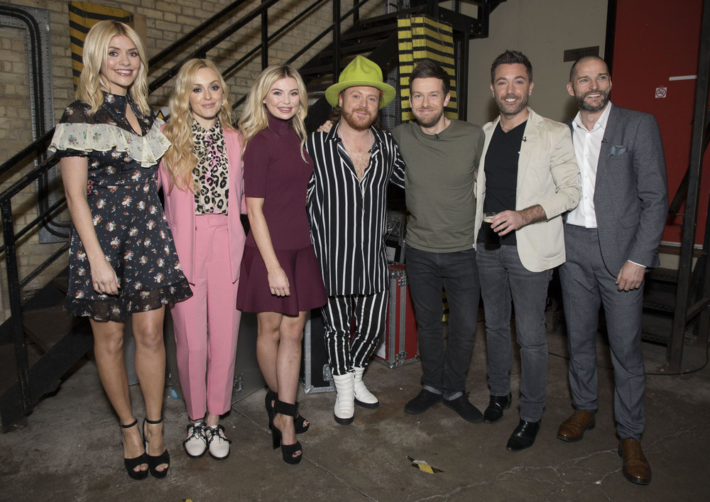 Celebrity Juice backlot in Elstree Studios
