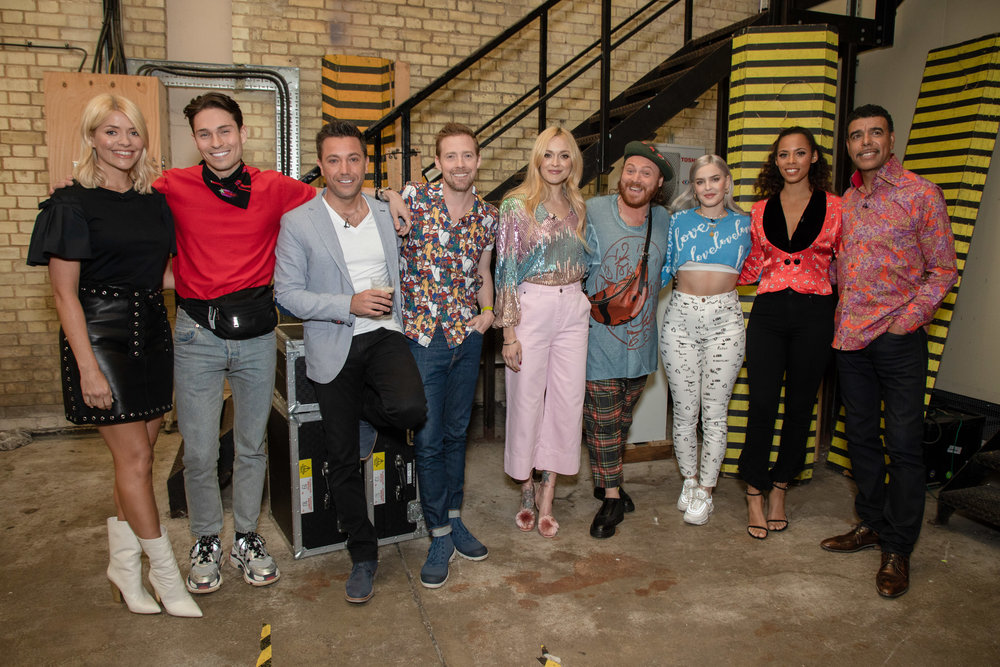 Celebrity Juice Backlot at Elstree Studios