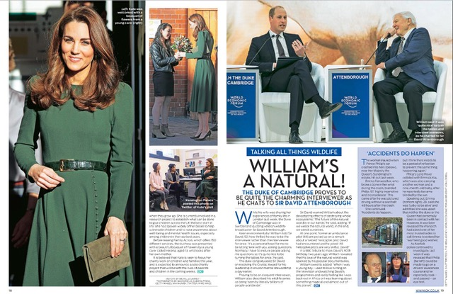 Catherine Duchess of Cambridge / OK Magazine