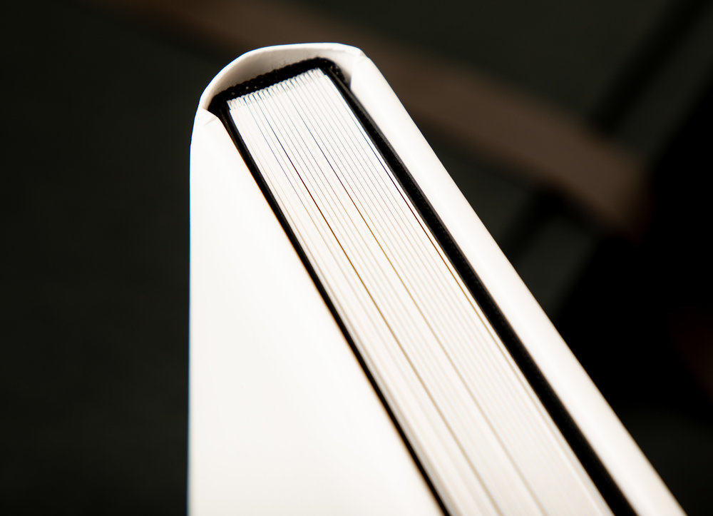 Binding details for albums