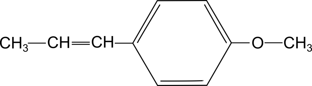 Molecola dell'anetolo