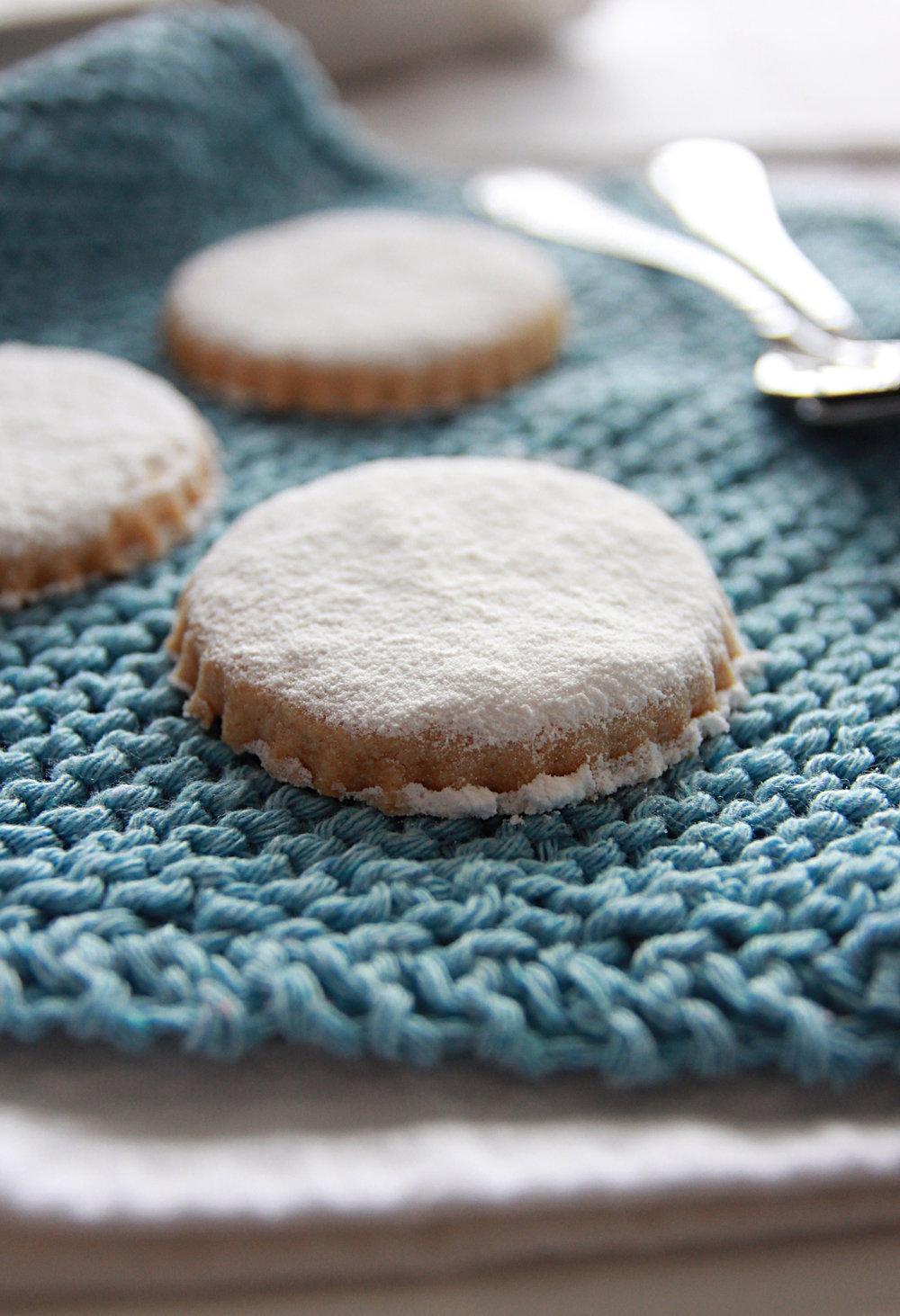 Canestrelli liguri biscotti