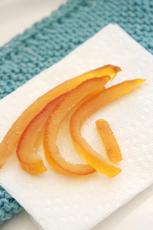 Le scorze d'arancia candite sono indispensabili nella colomba