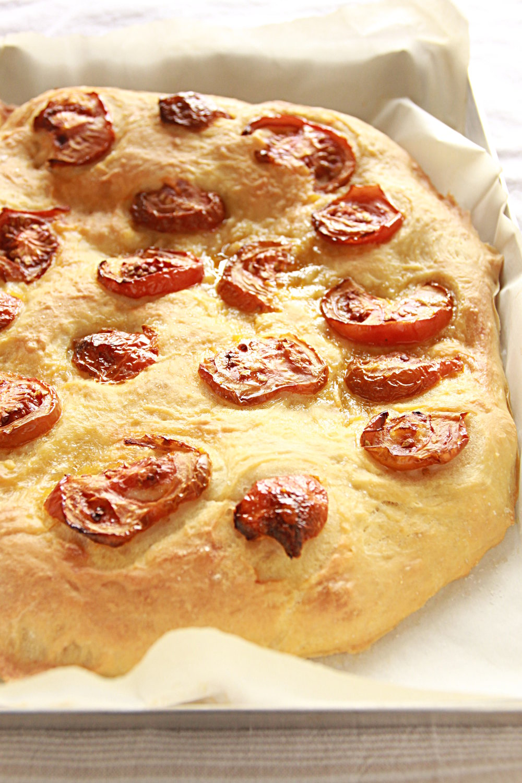 tomatoes focaccia biga