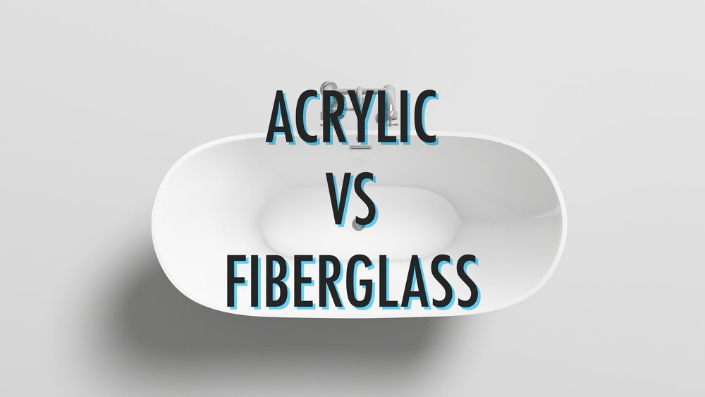 Acrylic vs Fiberglass Bathtub — Mach Bath