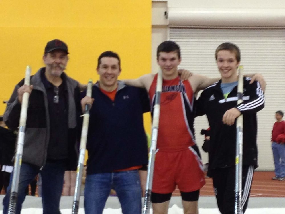 RIT Father (Michael), Alex (Coach), Max (Brother), Zach (Brother)