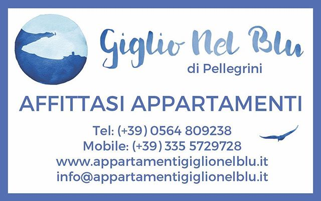 Per informazioni, non esitare a contattarci...abbiamo ancora qualche disponibilità per l'Estate 2019! Waiting for SUMMER!! 🏖😊☀️ #giglionelblu #isoladelgiglio #volgotoscana #igersmaremma #prolocoisoladelgiglio #summer #house #rent #holiday #beach #sea #islandlife #island #italy #italia #tuscany #toscana #giglionews #mare #dream #travel #tourism #tourist #sand #mytinyatlas #beautifuldestination #bbctravel #lonelyanet #estate