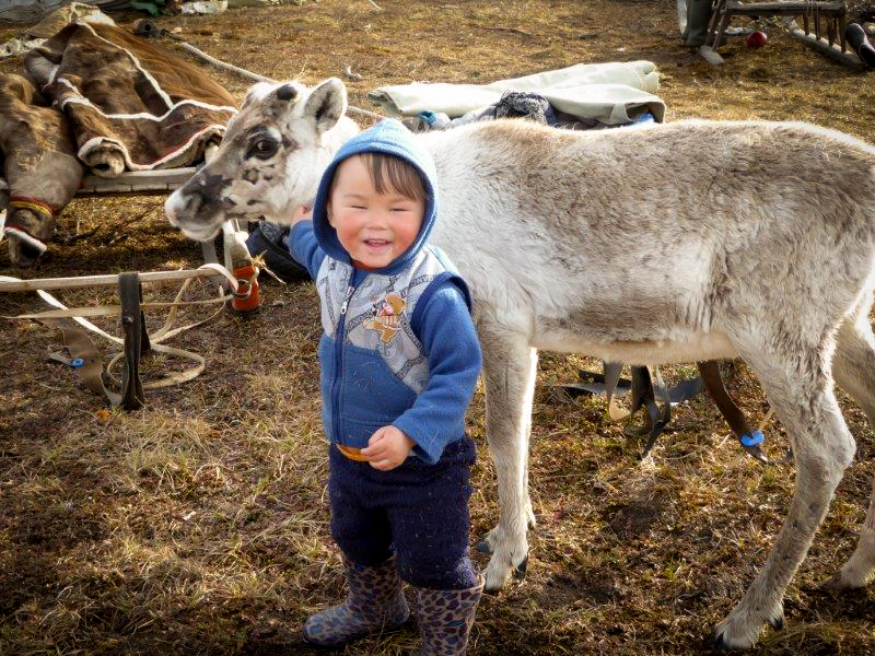 The Yamal Peninsula is famous for its fishing and hunting. The Nenets live off fishing in the summer and start slaughtering the reindeer in August. JONAA©Zoia Vylka Ravna