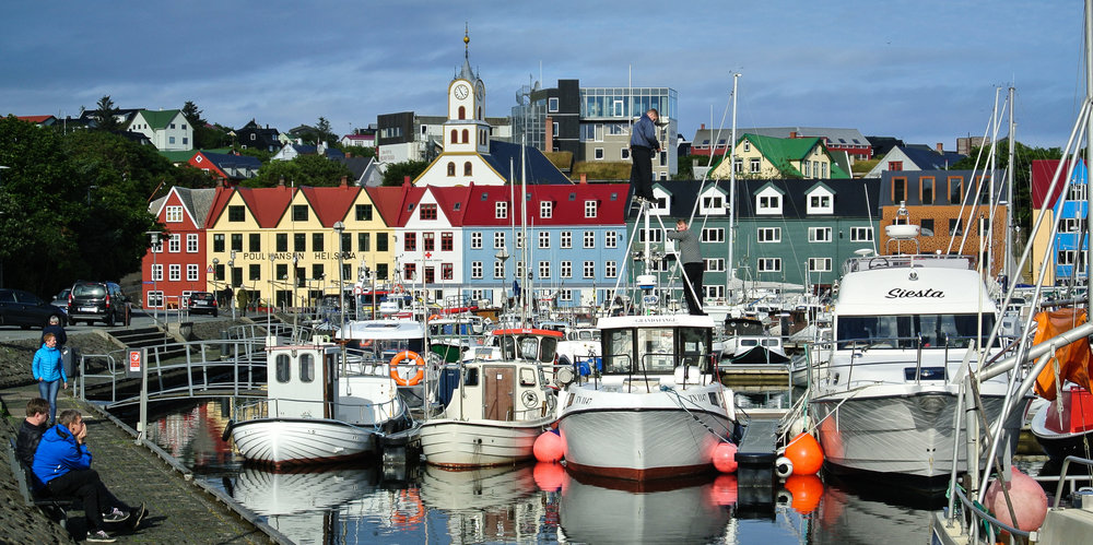 Torshavn, where the parliament has made unanimous decisions in recent years to expand the Faroe Island tunnel system.  JONAA@Vilborg Einarsdottir
