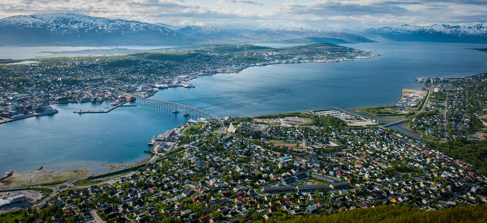 Tromsø, North Norway, often referred to as the Arctic capital. Now fast becoming also, the Arctic Science capital.    JONAA©Linnea Nordstrom