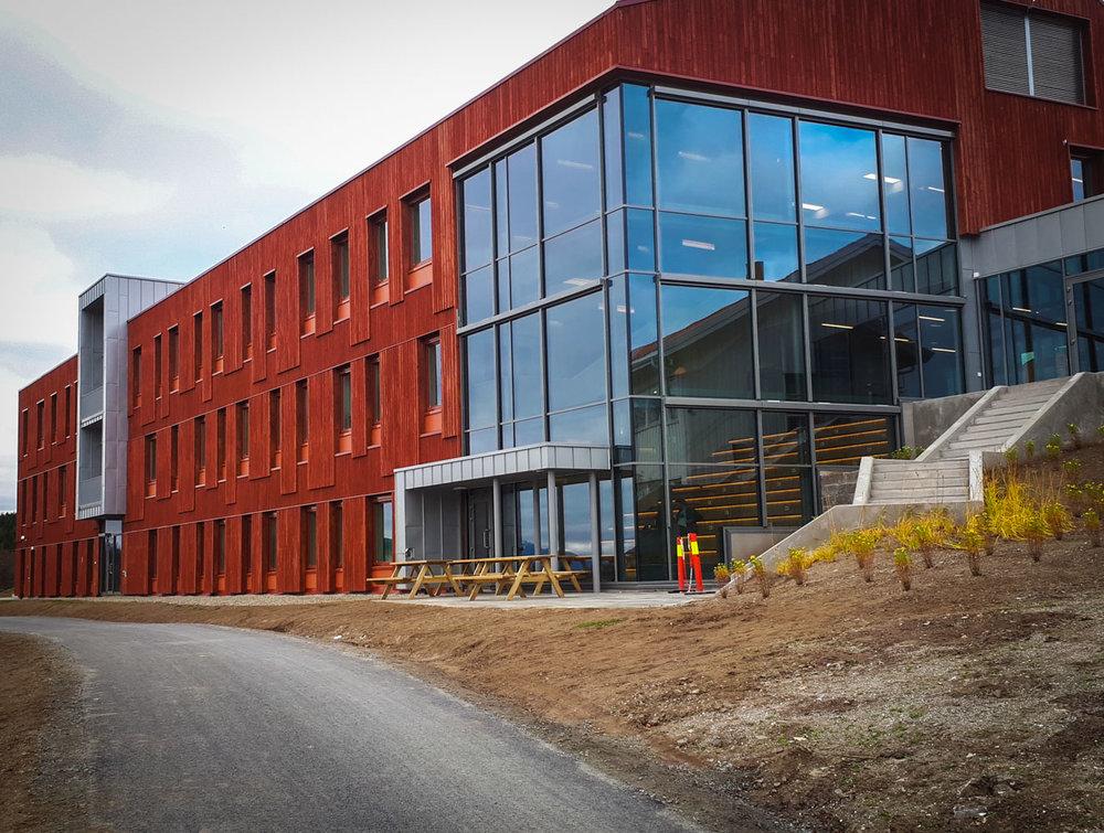 The new Biology building at, UiT, the Arctic University of Norway. JONAA©Harald Grape, UiT.