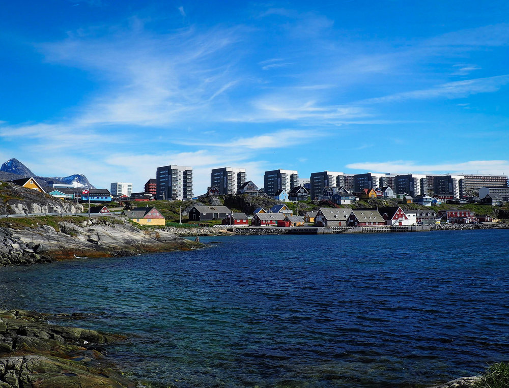 Greenland's capital Nuuk. Home to 18.000 people. JONAA©Gavin Zeitz