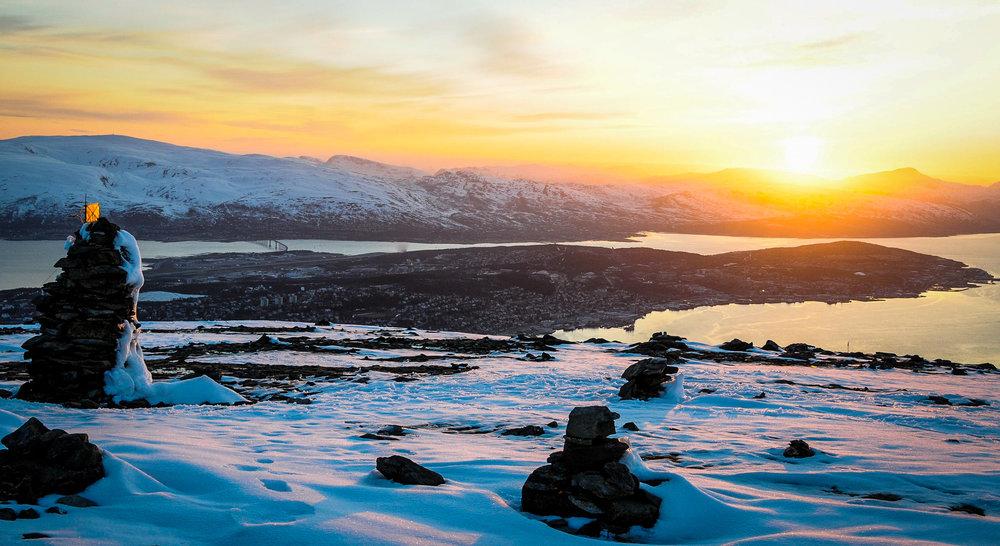 Tromsø, Norway. Often called the Arctic Capital. Home to an international community of over 65.000 individuals.   JONAA@Linnea Nordström.