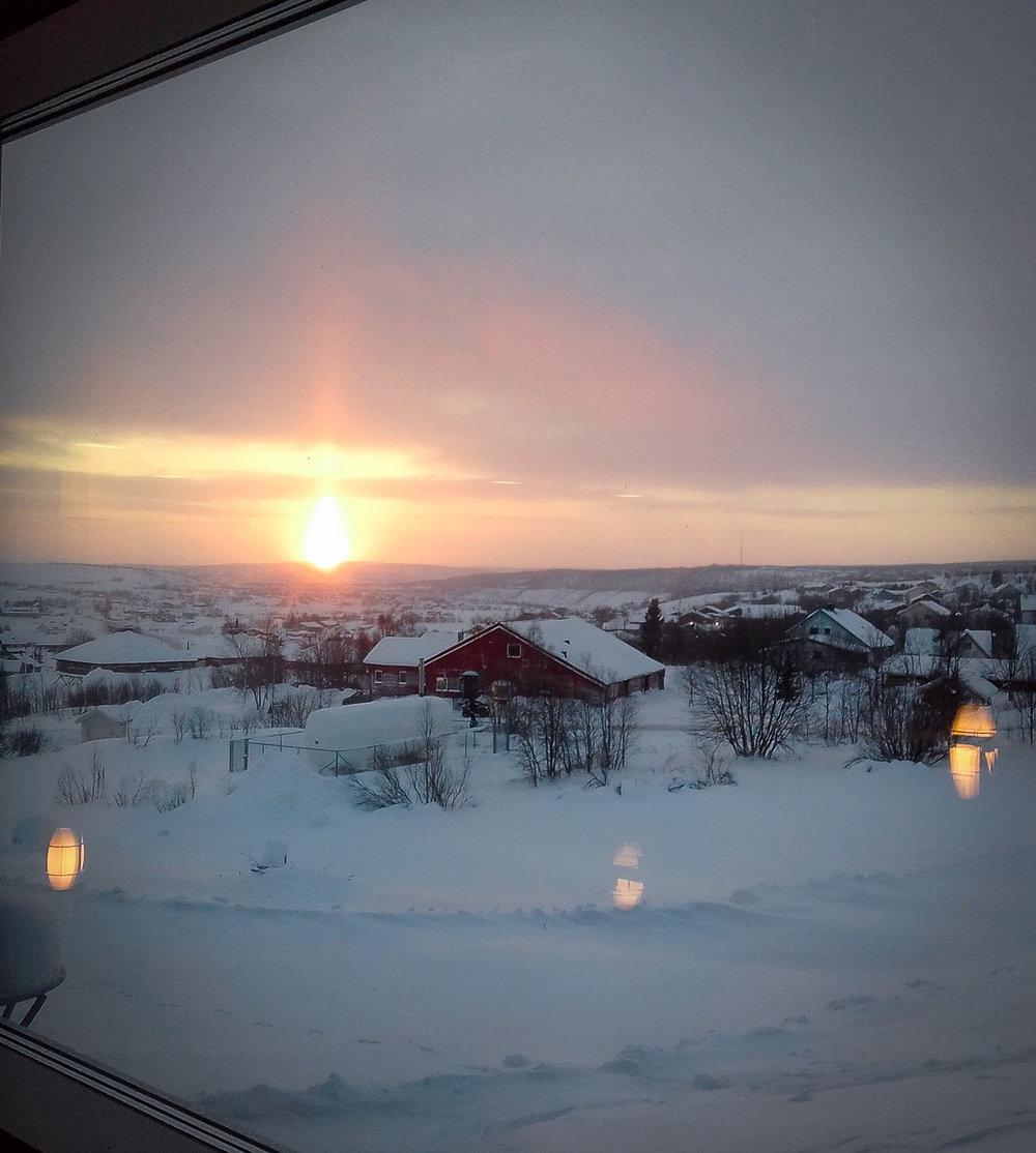 Solstice in the Sami village of Guovdageaidnu / Kautokeino in Norway's largest municipality of 9.704 km2 - home to 3.000 people. JONAA©Inga Hansen