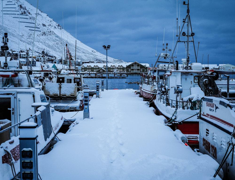 Winter in Siglufjorður, North Iceland. Home to 1.300 people. JONAA@Kristjan Fridriksson