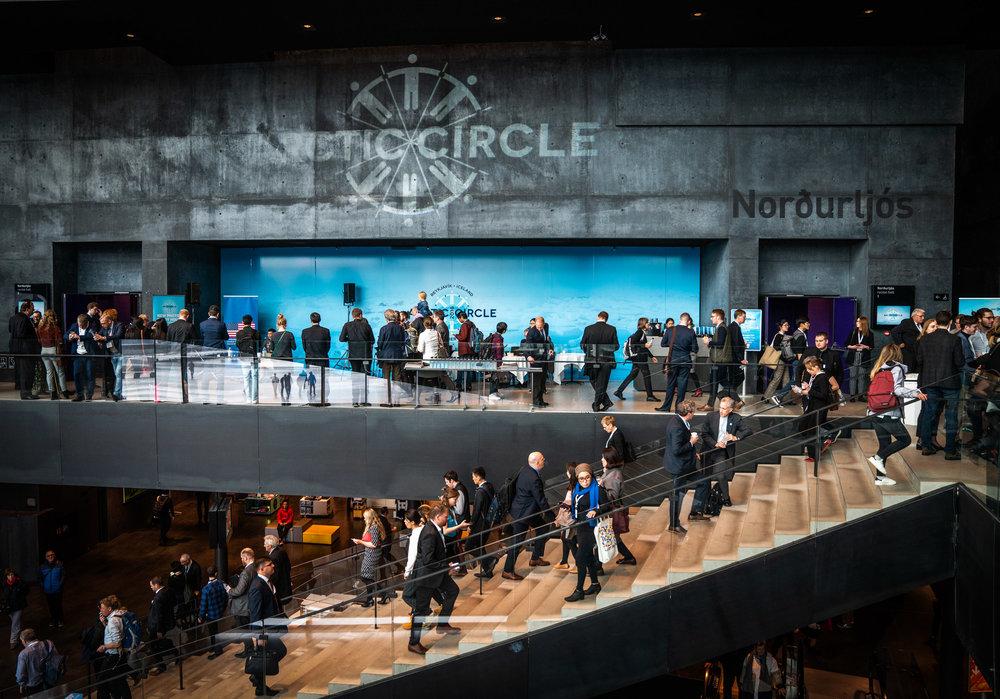 The Arctic Circle Assembly October 2018. JONAA©Óli Haukur Myrdal