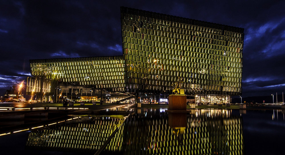Harpa, the Reykjavik Music Hall and Conference Center that has hosted all Arctic Circle Assemblies.  JONAA©Hans Vera