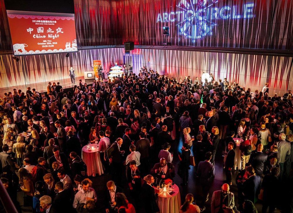 The China Night of the 2018 Assembly. JONAA©Oli Haukur Myrdal
