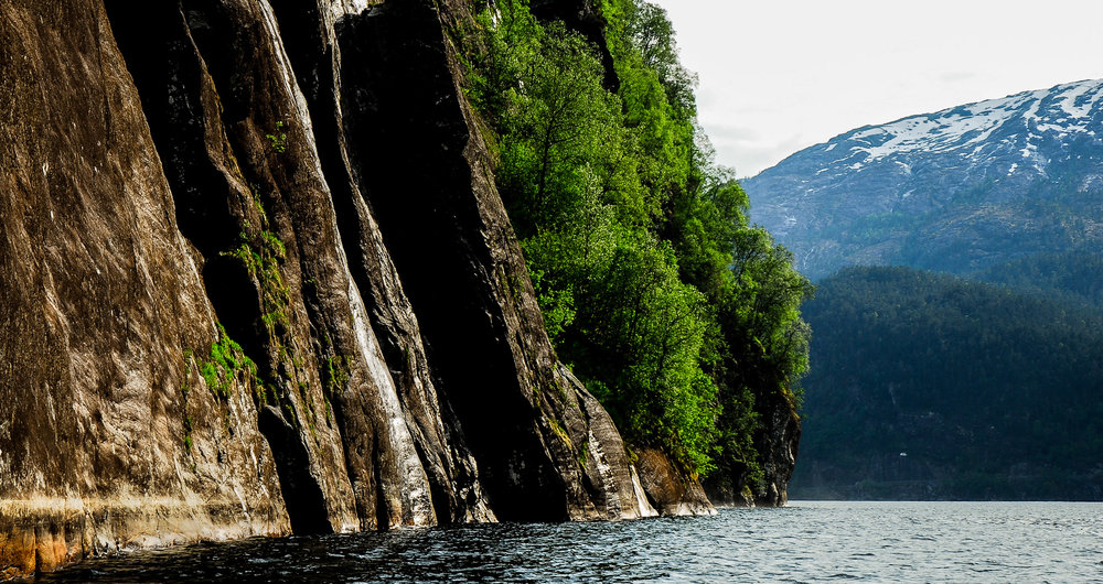 A fjord in Norway. JONAA©Kristjan Fridriksson