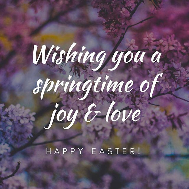 "Wishing you and your family a wonderful Easter season! May it be a time of joy, love and of giving. May it be a reflection of the love Jesus Christ gave to us all. ⠀ ⠀ ""...Jesus, the author and finisher of our faith, who for the joy that was set before Him endured the cross, despising the shame, and is set down at the right hand of the throne of God (Hebrews 12:2)."""