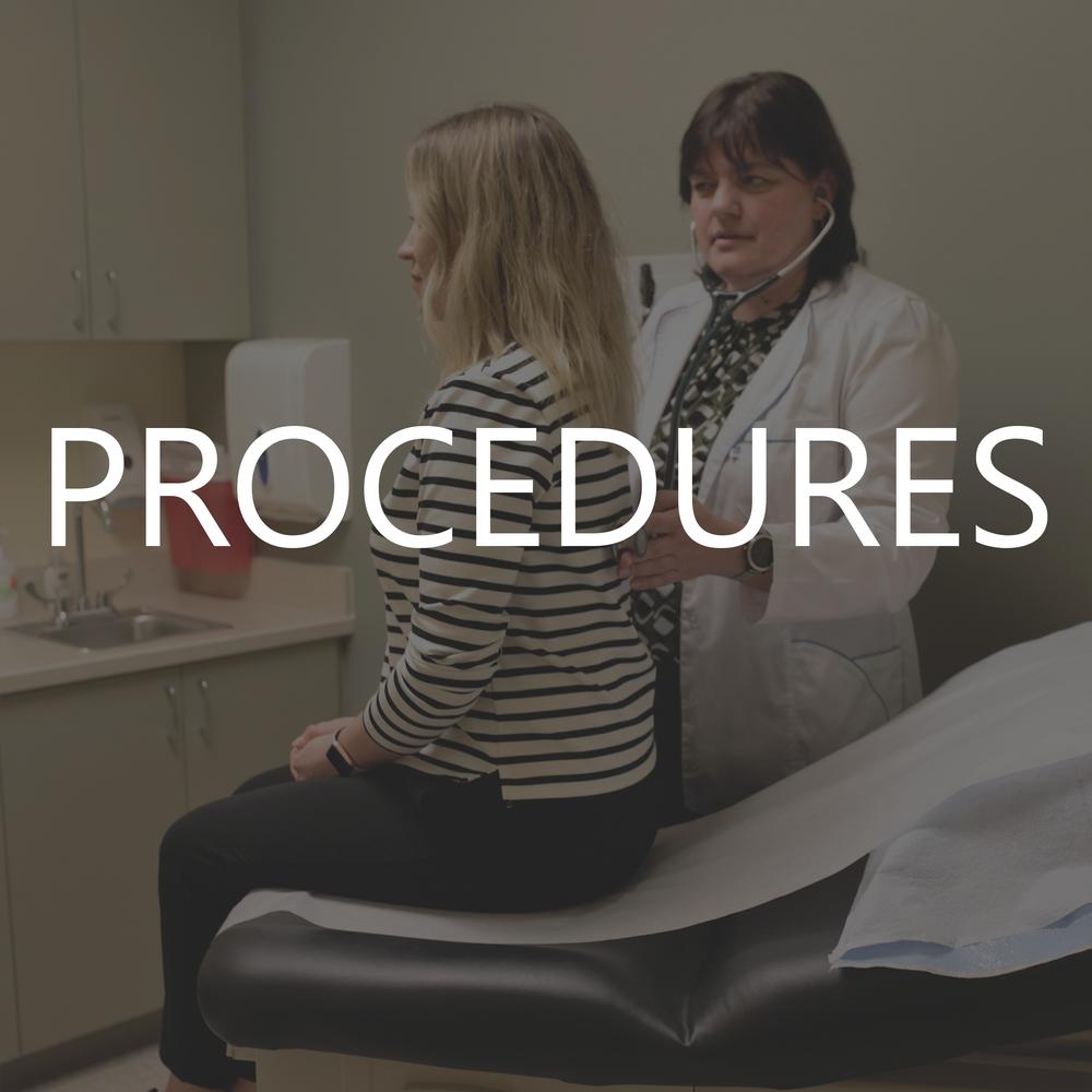 View List of Procedures