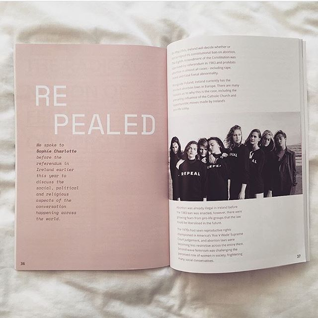 Regram from @sophie.charlottex !!! Keep tagging us in your photos of your issues - we love seeing you read em 😍😍😍