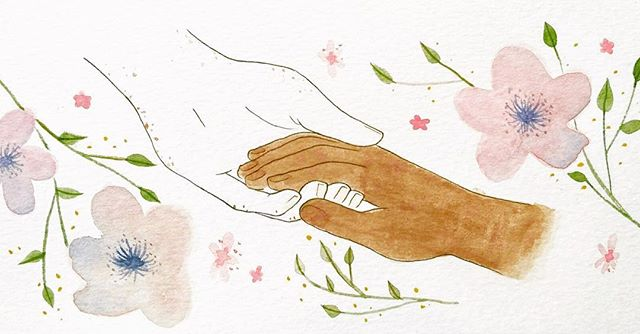 NEW POST ALERT // POETRY FROM NICOLE MOORE In our latest post, we have the pleasure of sharing some poetry from @nikkimoore3. In 'The Terrace' she explores the relationship she has with her white mother as a woman of colour, illustrated by the wonderful @gallayclara Link in bio 💕
