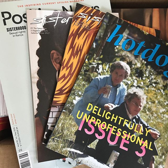 We're joining the @smallpressmags roster of magazines who are being stocked ethically. It's a new start-up who are giving magazine founders back more money for their sales than traditional shops. Check them out and give them a follow at @smallpressmags if you're an indie mag lover 🎉💘