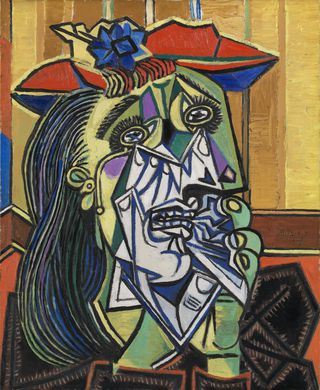 Artwork: Pablo Picasso's Weeping Woman, via Tate.