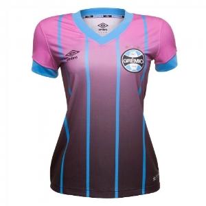 Você colabora e pode ganhar uma camiseta oficial do Grêmio alusiva ao outubro rosa. -