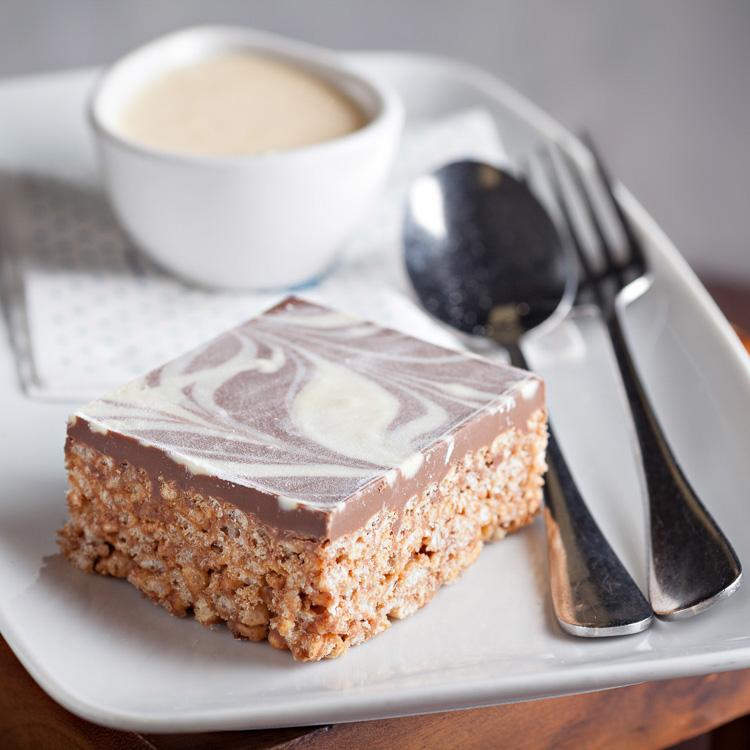 Chocolate Rice Crispy Slice