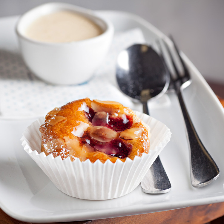 Raspberry Almond Tartlet   €3.00 (Eat in)—€2.45 (Takeaway)