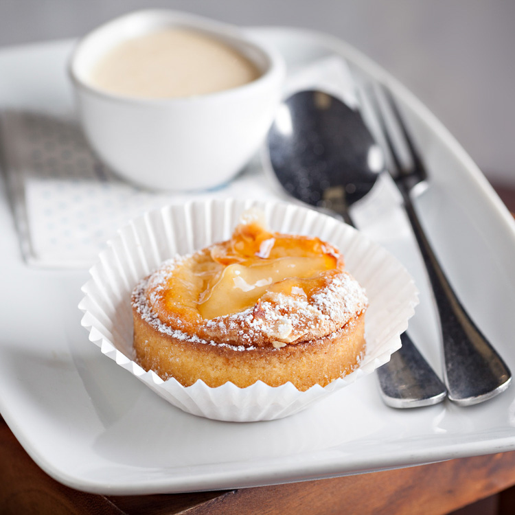 Pear and Almond Tartlet   €3.00 (Eat in)—€2.45 (Takeaway)