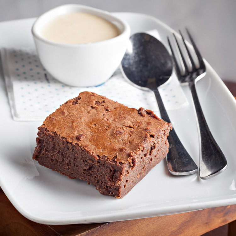 Chocolate Brownie   €3.00 (Eat in)—€2.45 (Takeaway)