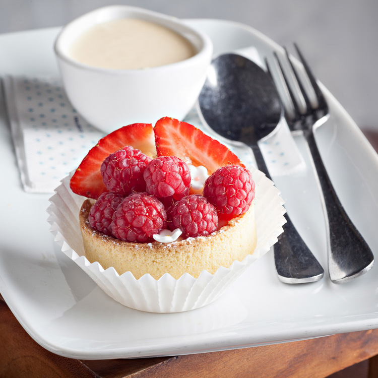 Summer Berry Tartlet   €3.00 (Eat in)—€2.45 (Takeaway)