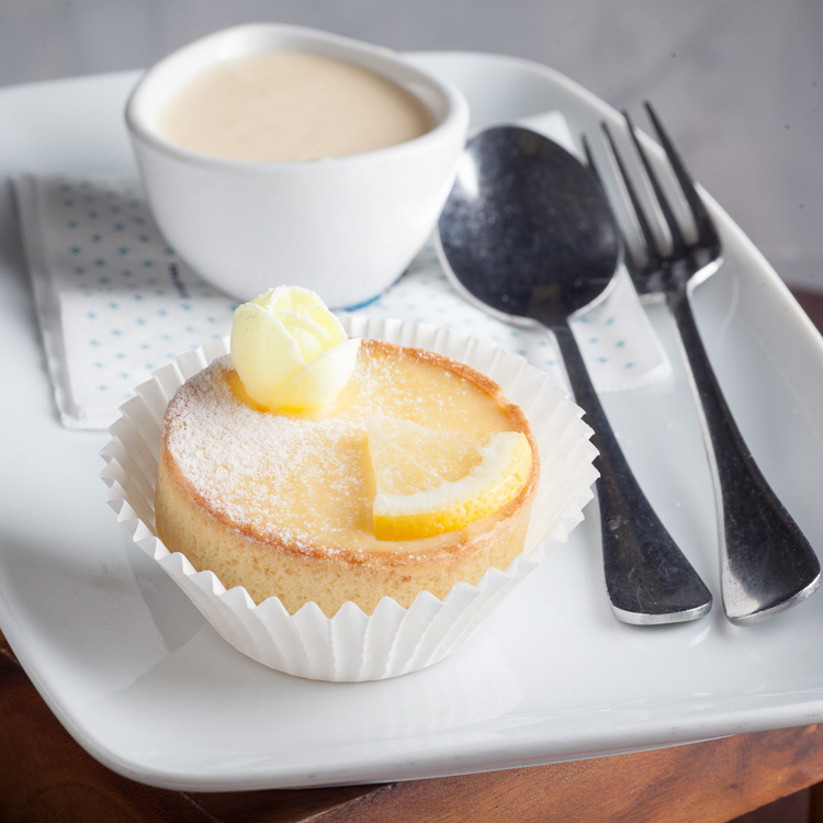 Lemon Curd Tartlet   €3.00 (Eat in)—€2.45 (Takeaway)