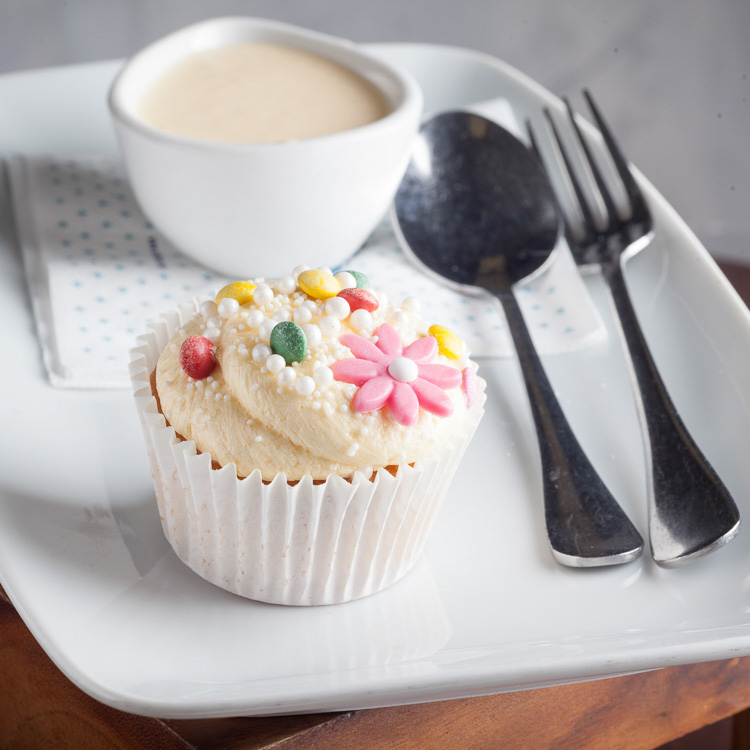 BiteSize Cupcake   €2.50 (Eat in)—€2.25 (Takeaway)