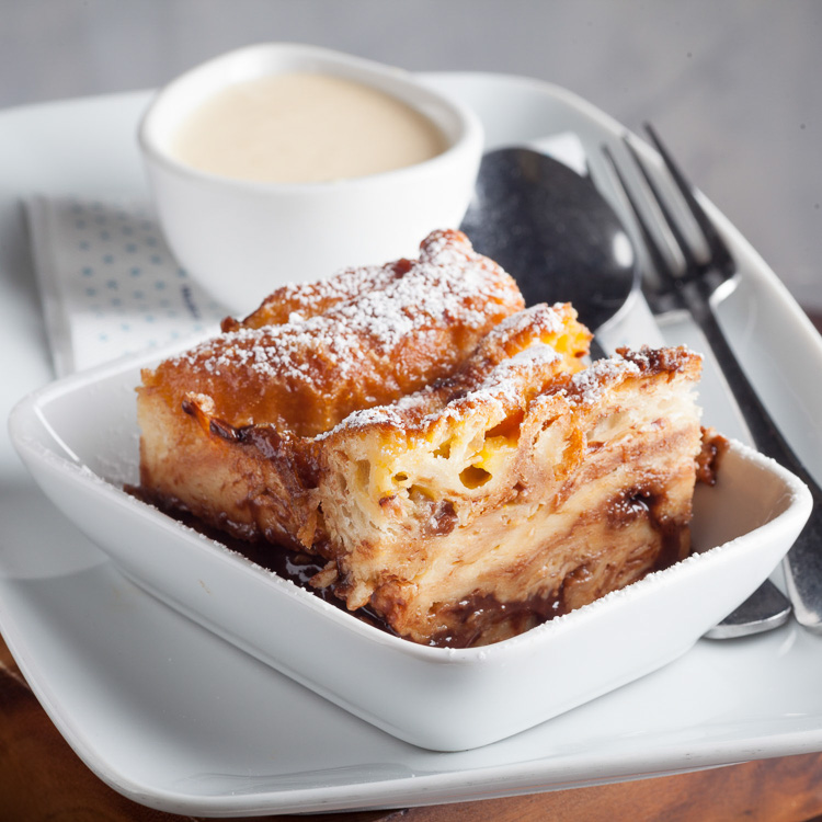 Bread and Butter Pudding   €3.50 (Eat in)—€3.00 (Takeaway)