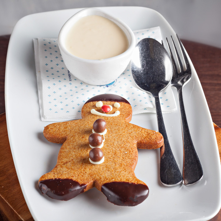 Gingerbread Man   €2.50 (Eat in)—€2.25 (Takeaway)