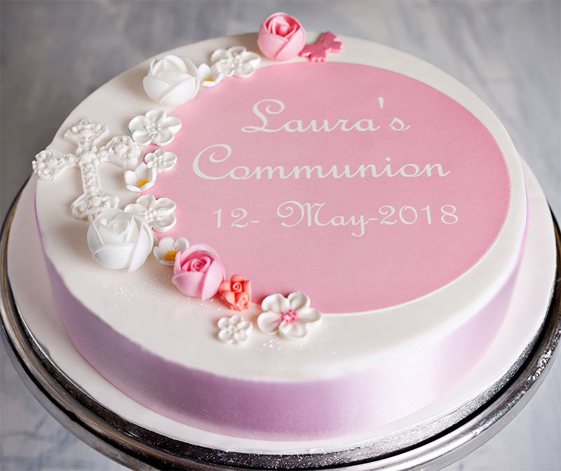 Communion Cake—Girl