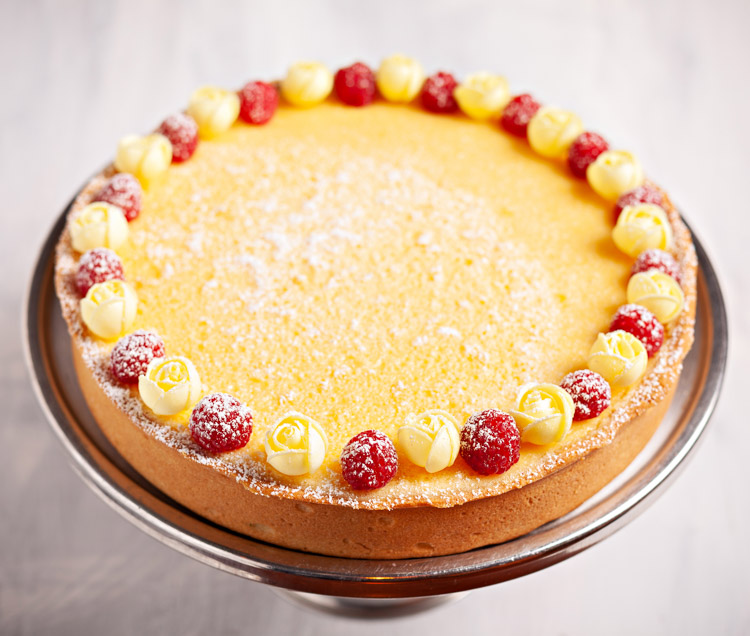 Deep-Filled Baked Lemon Tart
