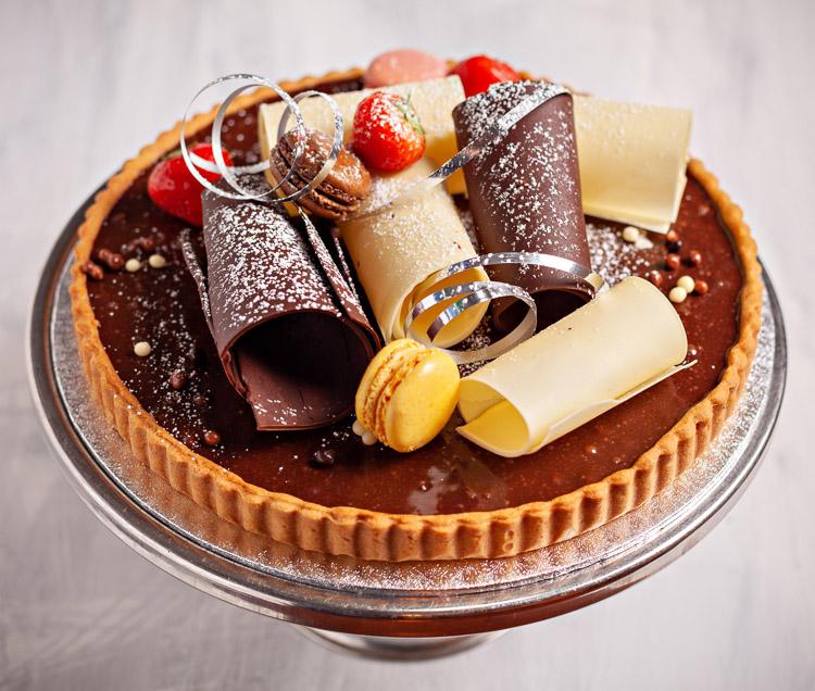 Belgian Chocolate Torte