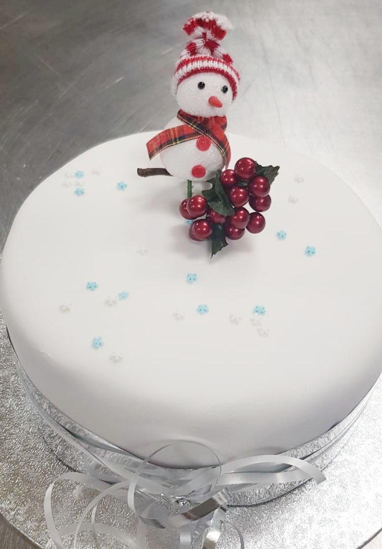 BiteSize Christmas Cake
