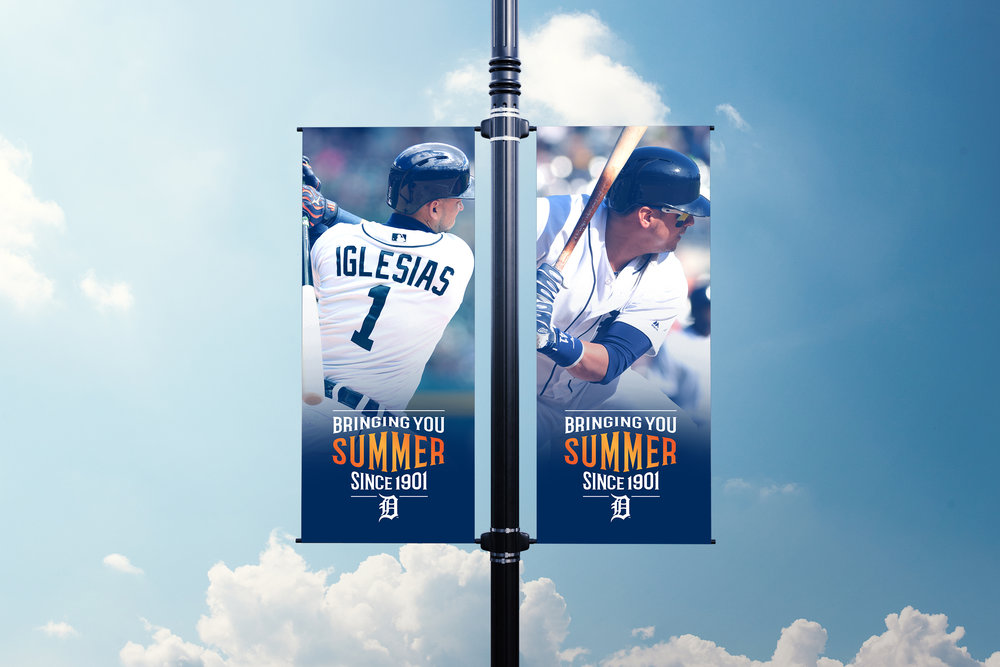 Bringing You Summer Since 1901 Campaign Pole Banners