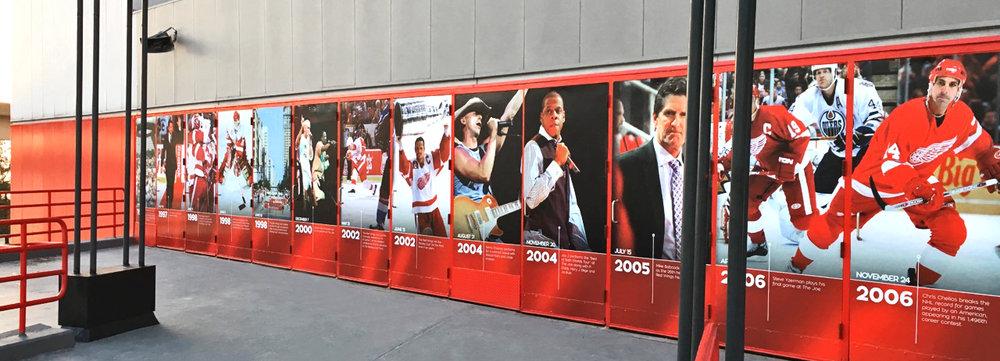 Joe Louis Arena Farewell Season Doors Timeline